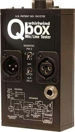 Q-Box Mic/Line Tester/Generator